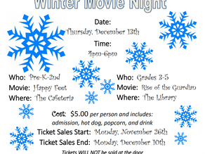 Movie Night is coming back to AG!