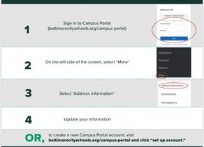 Updating Campus Portal