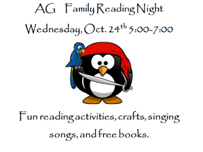 Family Reading Night!