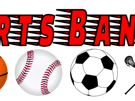 Sports Banquet will begin at 5:00pm on June 12