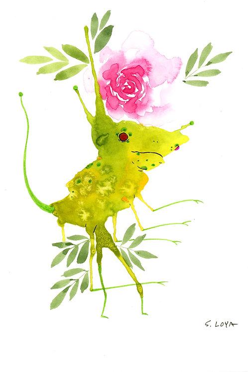 Flower Sprite Splotch Monster