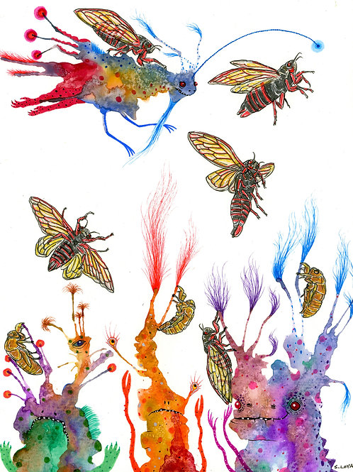 Cicada Invasion!
