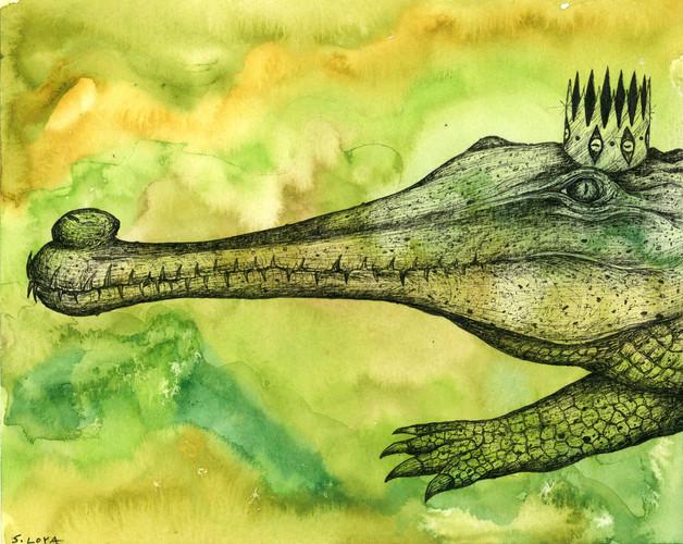 Endangered Kingdom series: Gharial