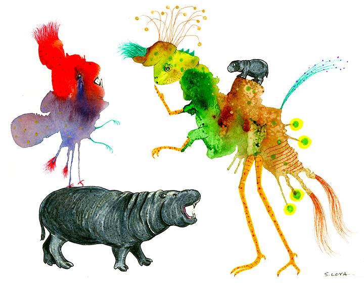 Pigmy Hippo