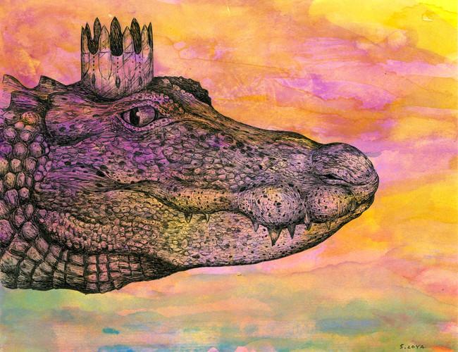 Endangered Kingdom series: Chinese Alligator