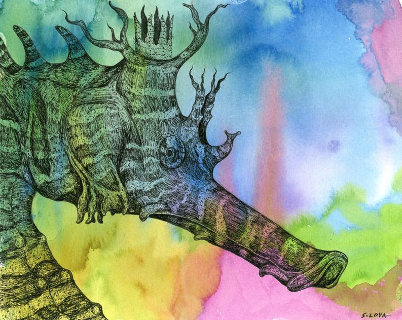 Endangered Kingdom series: Sea Horse