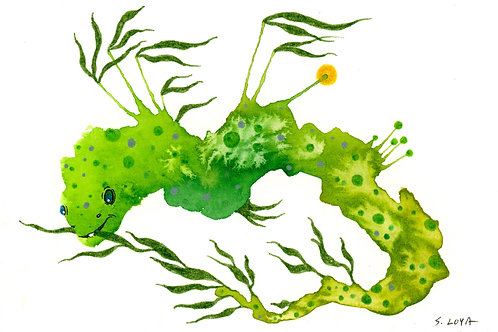 Seaweed Splotch Monster