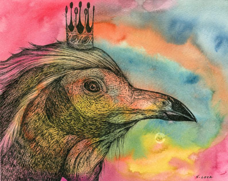 Endangered Kingdom series: Trinidad Piping Guan
