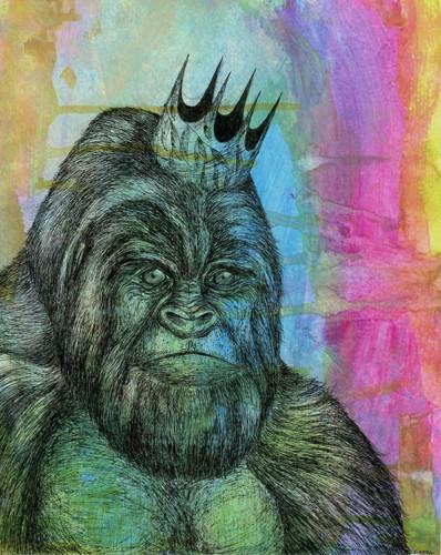 Endangered kingdom series: Silverback Gorilla