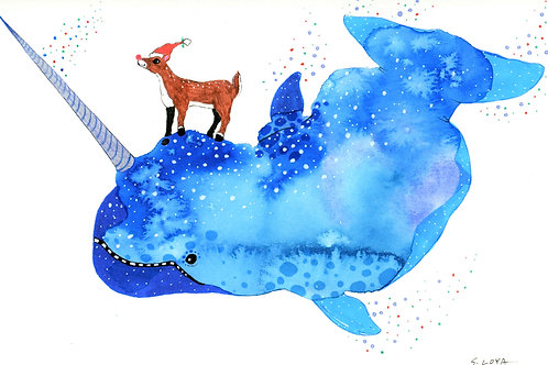 Rudolph and the Magical Flying Narwhal