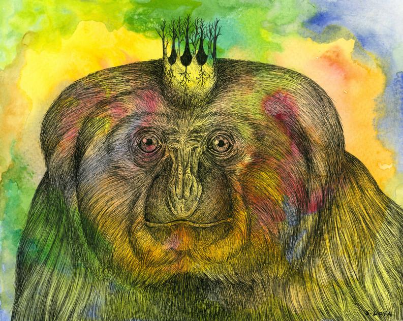 Endangered Kingdom series: Northern White-cheeked Gibbon