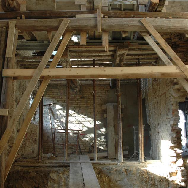 Structural renovation works