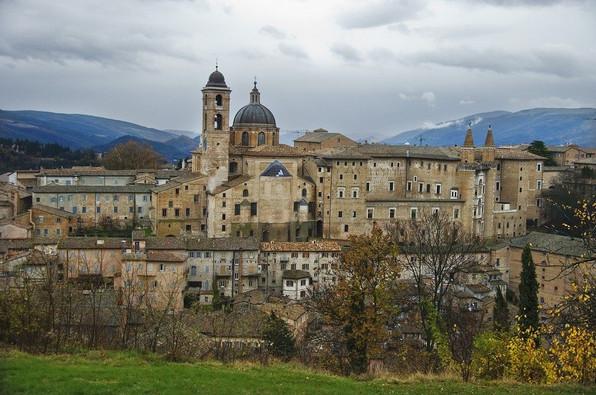 Il centro storico di Urbino - Patrimonio dell'Umanità UNESCO