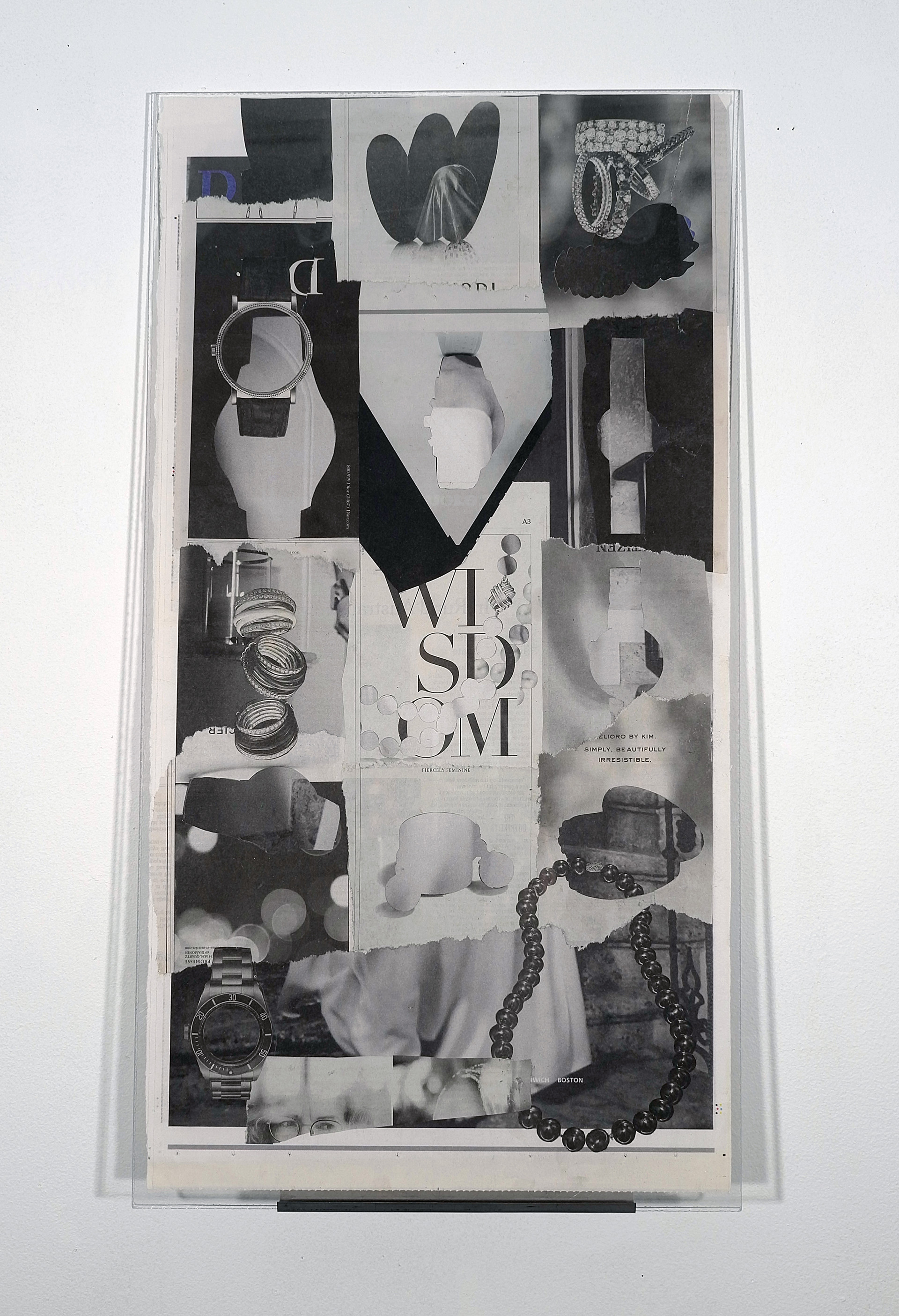 Untitled 2, Time Travel Series, New York Times Collage