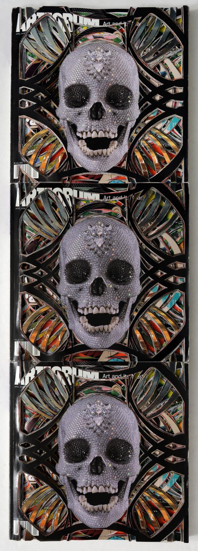 ArtForum, Unsolicited Collaboration with Damien Hirst