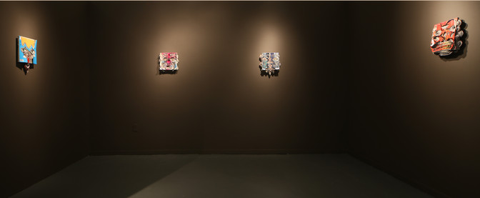 Totem, Installation, 2016, Eleanor Harwood Gallery