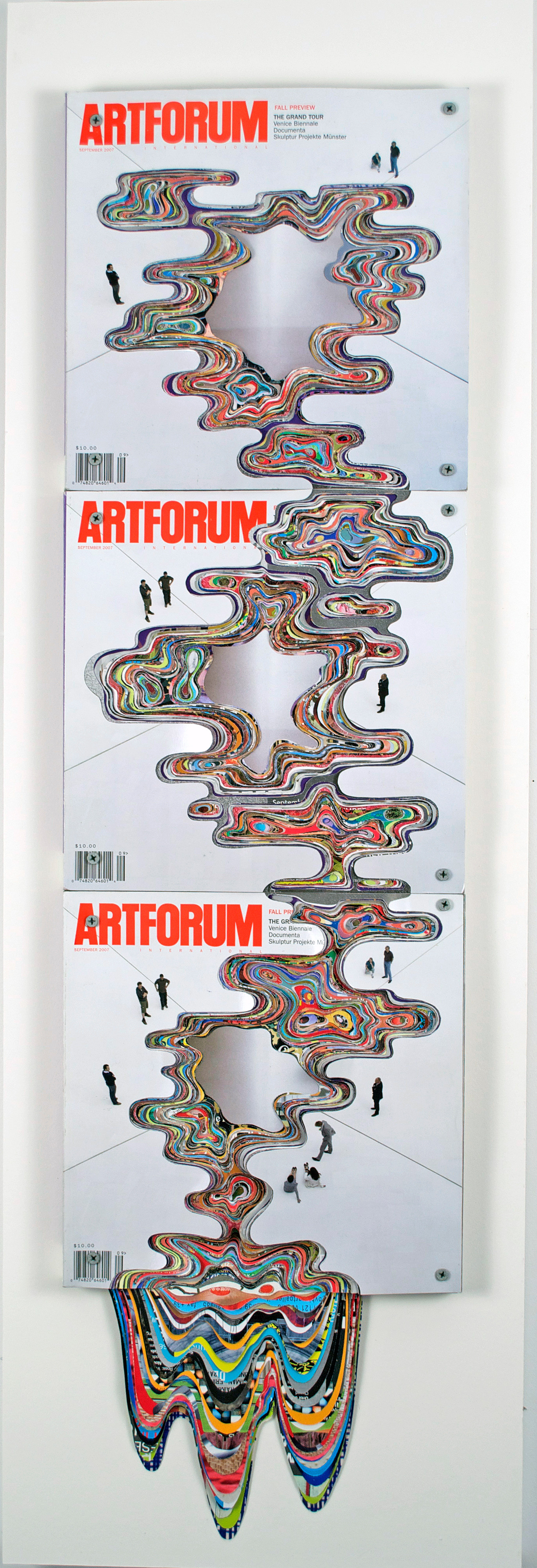 ArtForum #35, Unsolicited Collaboration with Bruce Naumann