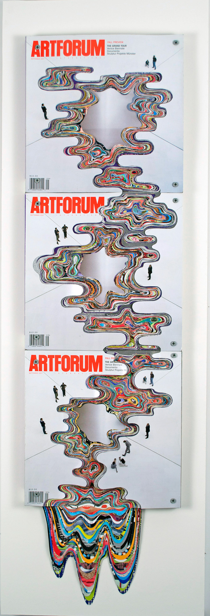 ArtForum #35, Unsolicited Collaboration with Bruce Naumann