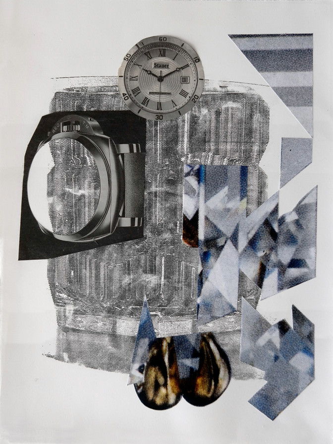 Untitled #9, Time and Money Series