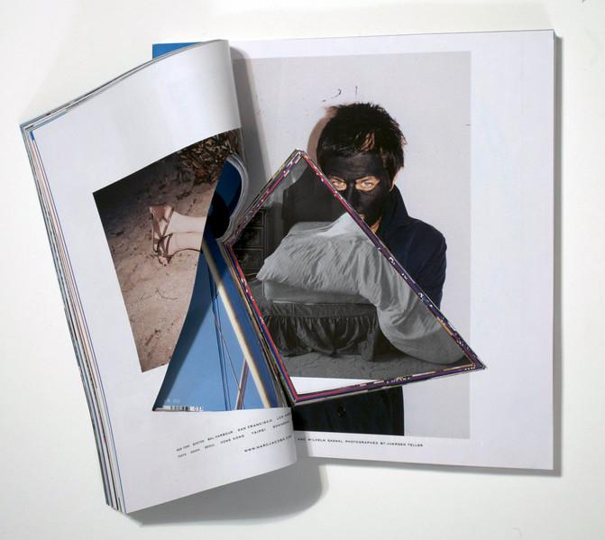 ArtForum #31, Unsolicited Collaboration with Jugen Teller