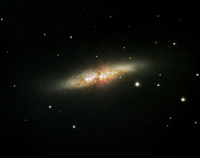 The Exploding Cigar Galaxy