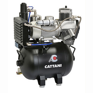 NEW Cattani Compressors for use with milling machines