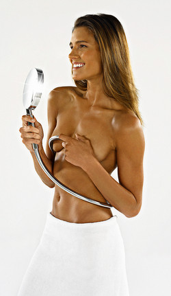 Model with a Hansgrohe Faucet