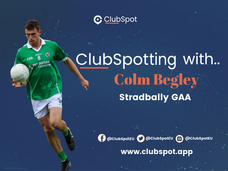 ClubSpotting With Colm Begley