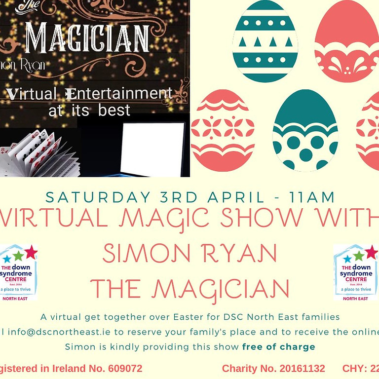 Virtual Magic Show with Simon the Magician
