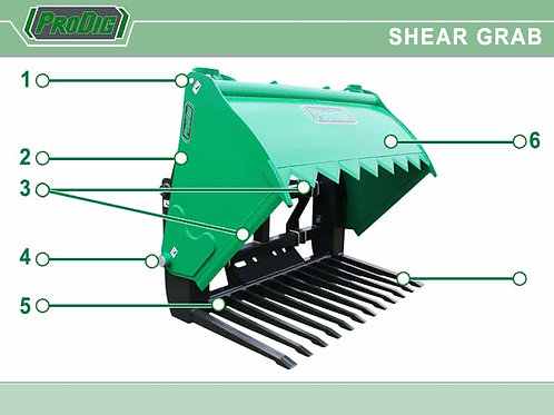 New Prodig Sheargrabs All Sizes.