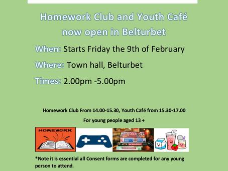 New Belturbet Homework Club and Youth Café