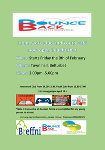 New Belturbet Homework Club and Youth Café