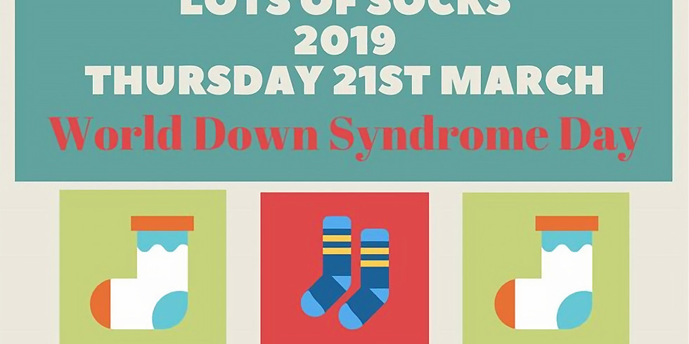 Lots of Socks for World Down Syndrome Day 2019
