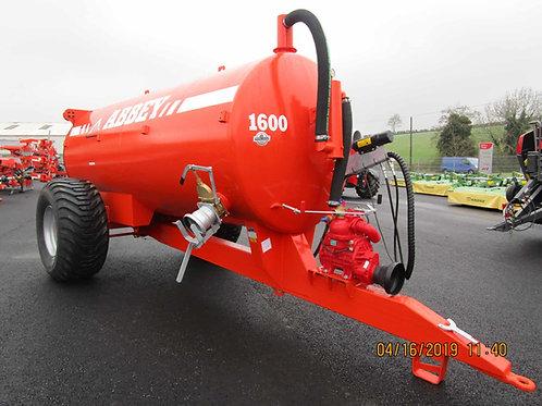 NEW ABBEY 1600 Gallon Tanker