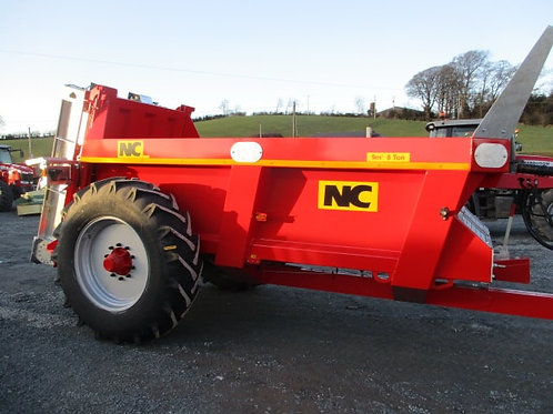 New NC Rear Discharge Muck Spreaders.