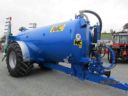 NEW NC 2500 gallon tanker c/w Agquip 7.5 mtr trailing shoe