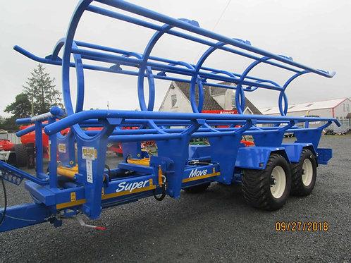 NEW WILSON 10 SUPER MOVE BALE TRAILER