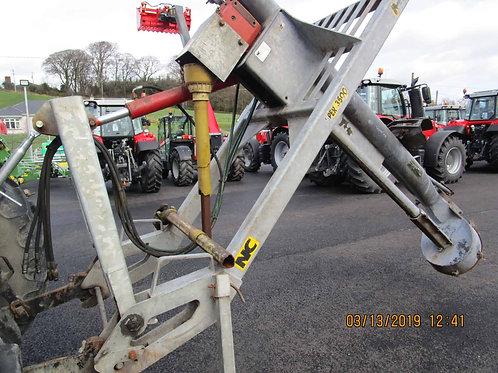 S/H NC 3500 Galvanised slurry pump