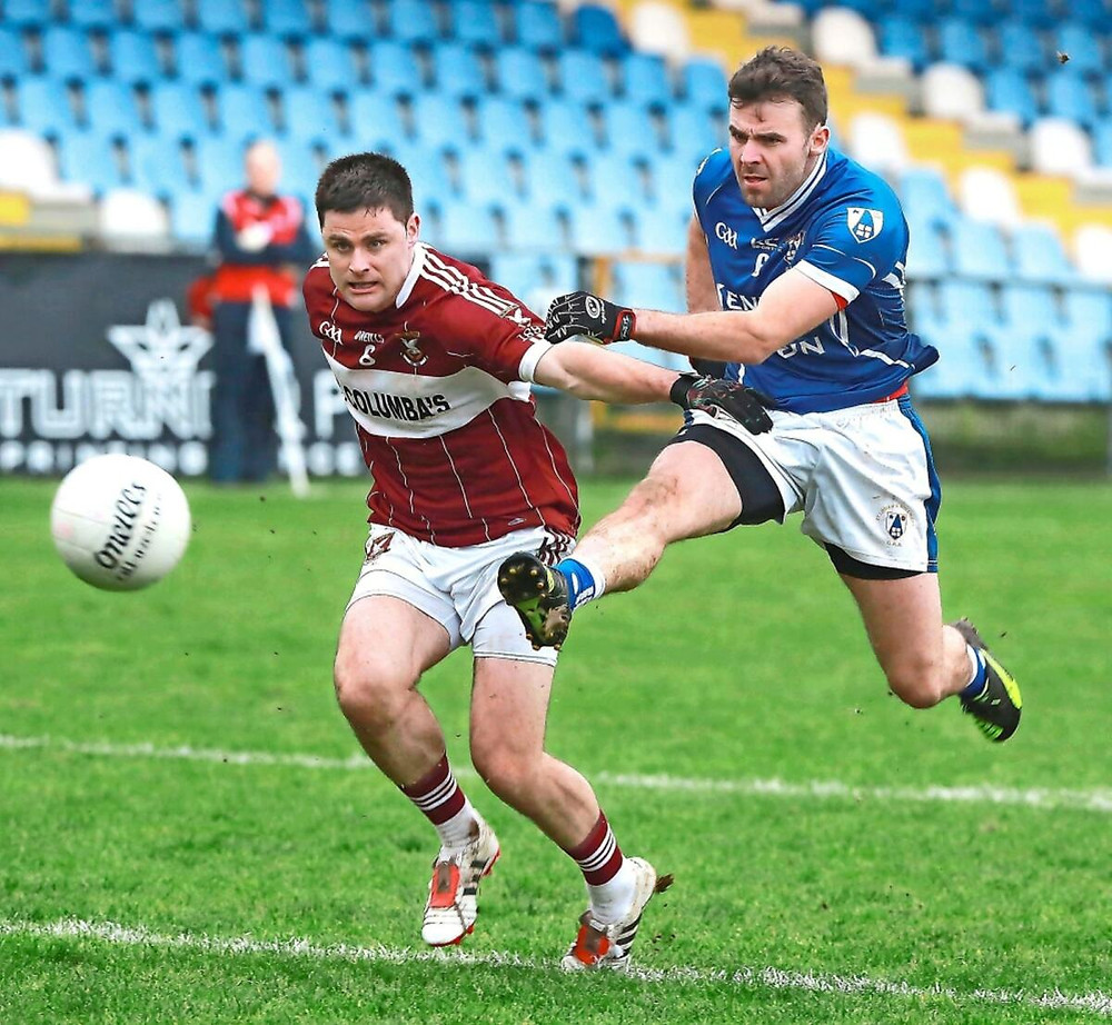 Source: (Inpho) Paddy Dowdall in action for St. Loman's.