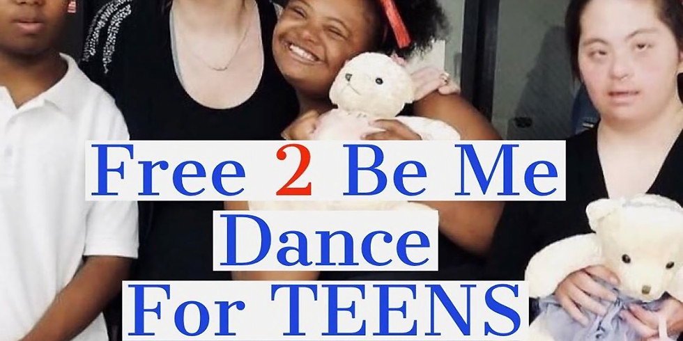 Free 2 Be Me Dance For Teens