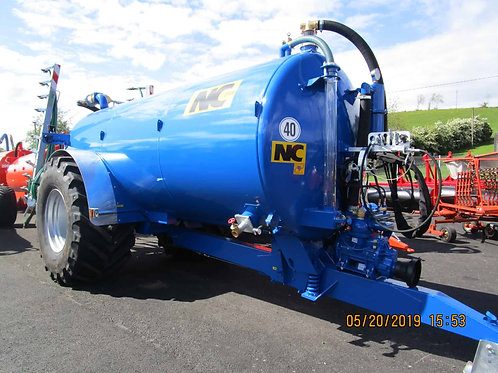 NEW NC 2500 Gallon Tanker c/w Agquip Trailing shoe