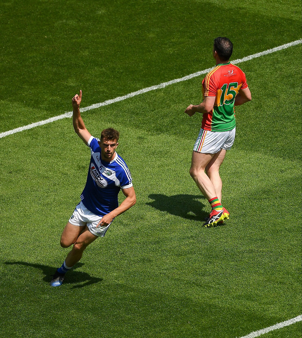 Colm Begley in action for Laois
