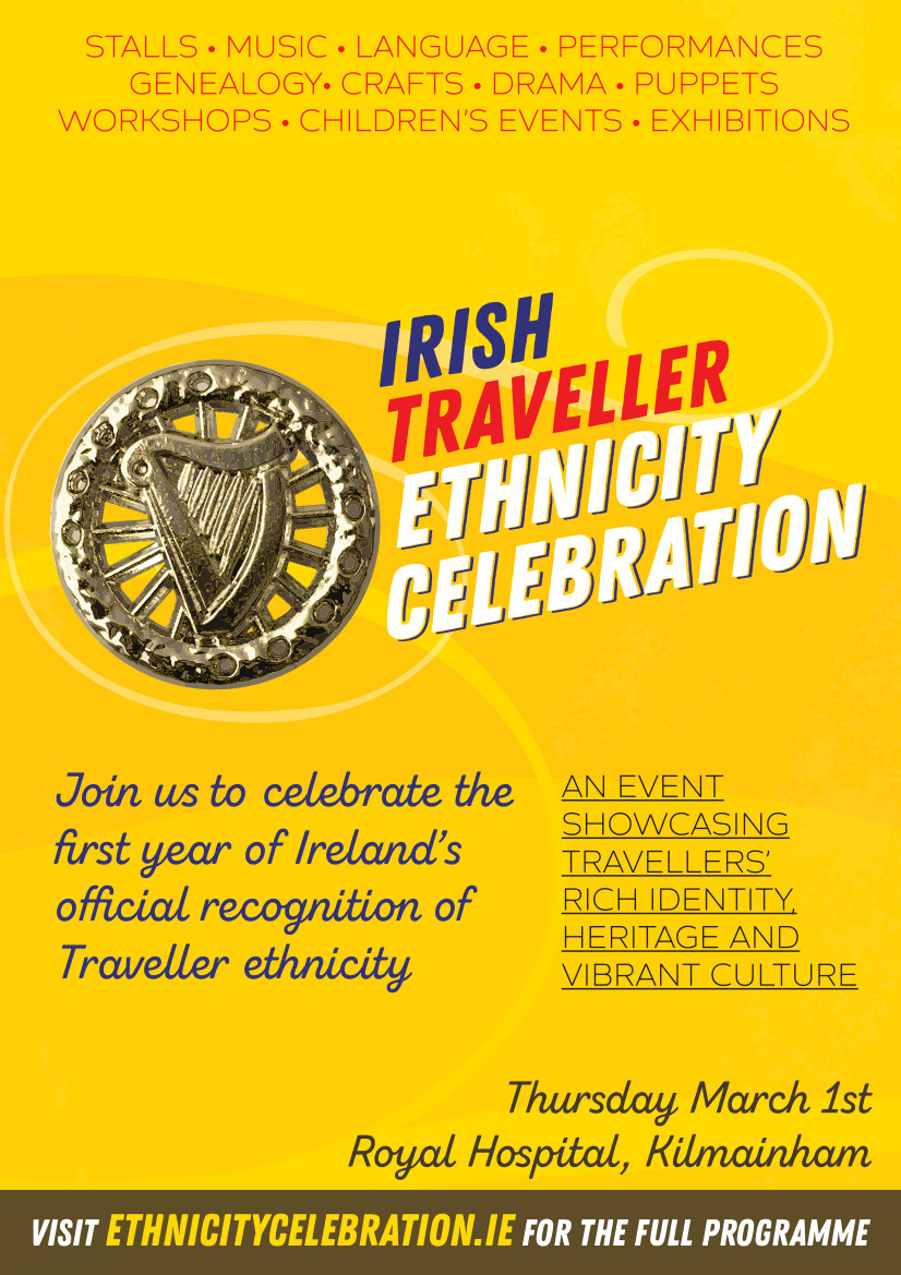 Traveller Ethnicity Celebration Thursday 1st March