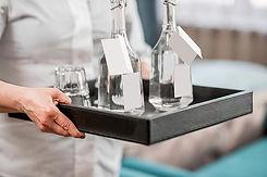 waitress-with-kilner-bottled-water.jpg