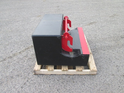 Tractor rear ballast weight
