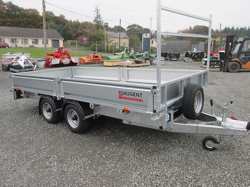 New Nugent Flatbed Trailers Ex Stock