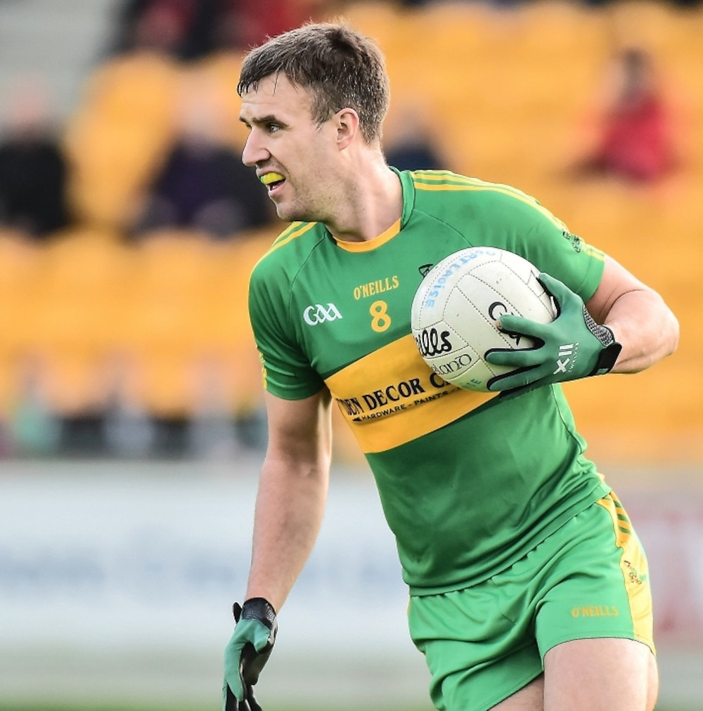 (Source: Offaly Independent) Alan McNamee weighs up his options for Rhode.