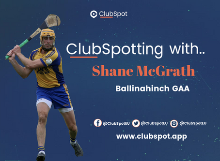 ClubSpotting With Shane McGrath