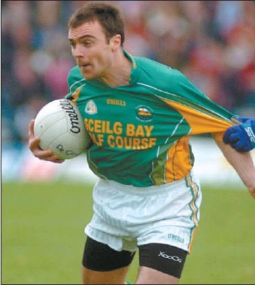 (Source: The Kerryman) Brian Hickey in action for South Kerry.