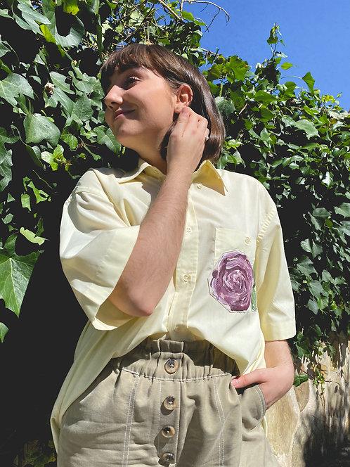Camisa Le printemps jaune